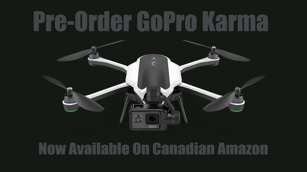 buy gopro karma drone in canada