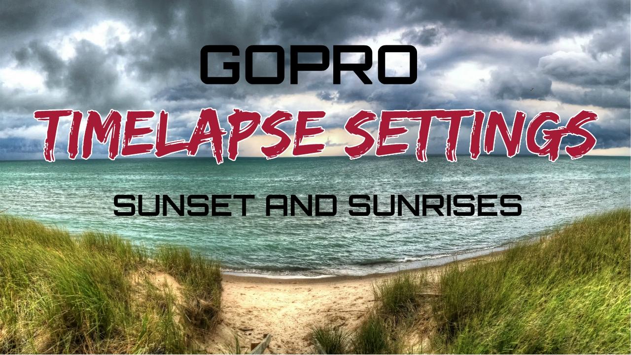 gopro timelapse settings