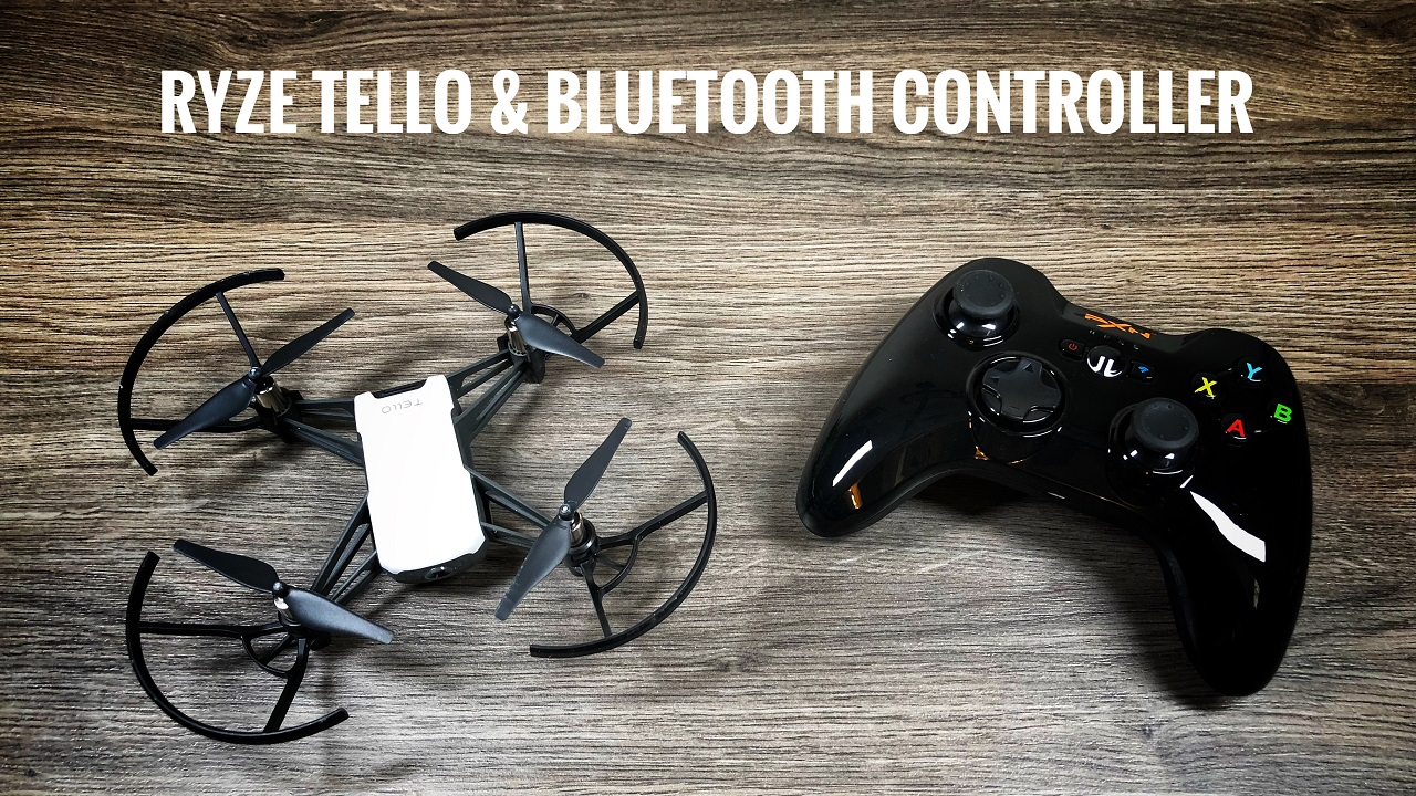 How To Use A Bluetooth Game Controller With Ryze Tello Drone Air